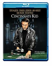 THE CINCINNATI KID (1965 Steve McQueen) -  Blu Ray - Sealed Region free