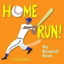 Home Run! My Baseball Book by Diehl, David, Good Book