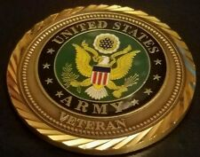 Challenge Coin United States Army Veteran