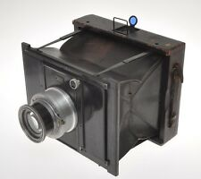 Goerz C.P. Ango (Anschutz) klapp camera 13x18 with 210/5 Zeiss Unar, sold as is