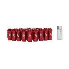 Mishimoto Aluminium Locking Wheel / Lug Nut Set - M12 x 1.5 - Red