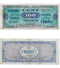 BILLET DE 100 FRANCS VERSO FRANCE - TYPE 1945  sans SERIE  VF25/1
