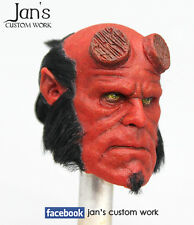 1/6 RARE Hot CUSTOM REPAINT REHAIR toys Hellboy figure head DX enterbay sideshow
