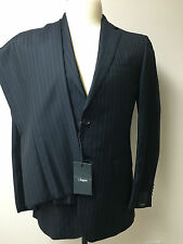 ERMENEGILDO ZEGNA 100% WOOL NEW 2 PIECE MEN'S  SUIT SIZE 46 EU-36 US (S)