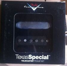 NEW set FENDER TELECASTER TEXAS SPECIAL 0992121000 CUSTOM SHOP 099-2121-000