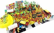 130+ Indians Cowboys Western Figures Plastic Toys