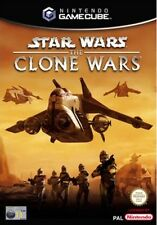 STAR WARS THE CLONE WARS GAMECUBE GAME PAL