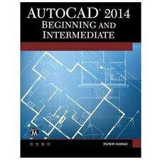 AutoCAD 2014 Beginning and Intermediate, printed, Hamad, Munir, Excellent, 2013-