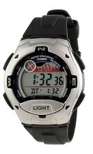 Casio W753-1A Digital 100m Sports Watch Tide Graph 10 Year Battery Moon Data NEW