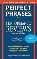 Perfect Phrases for Performance Reviews 2E (Perfect Phrases Series)