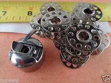 1 Bobbin Case  20 Bobbins fits singer 239,2250,2259,2263,3012,3013,30215
