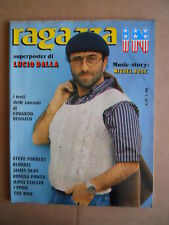 RAGAZZA IN Fotoromanzo  22 1980 Poster Lucio Dalla - Blondie Romina Power [G600]