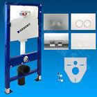 GEBERIT Duofix Basic UP100 WC Vorwandelement Bauhöhe 112cm Drückerplatte WC-Set
