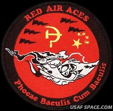 USAF 461st FLIGHT TEST SQUADRON -RED AIR ACES- PHOCAE BACULIS CUM BACULIS- PATCH