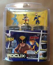 Marvel Heroclix TabApp Wolverine XMen 3 Pack with Cyclops and Iceman