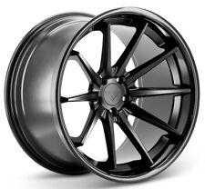 20x9 Ferrada FR4 5x120 ET35 Matte Black Wheels (Set of 4)