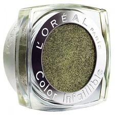 LOREAL INFALLIBLE 24HR HOLD EYESHADOW NO 009 PERMANENT KAKI NEW GREAT COLOUR