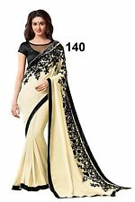 INDIAN DESIGNER SAREE BOLLYWOOD PARTY WEAR ETHNIC PAKISTANI BRIDAL WEDDING SARI