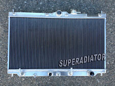 1990-1993 fit for Honda Accord AT Performance Aluminum Radiator 2 ROW New