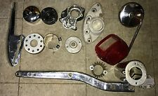 Harley Parts Lot Metal Art FXE FLH Superglide Bobber Chopper  #4796
