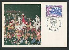 MONACO MK 1978 ZIRKUS ARTIST PFERDE HORSE MAXIMUMKARTE MAXIMUM CARD MC CM d4937