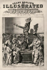 """The Statue of """"The Freed Slave"""" -   at the Centennial Exposition   -   1876"""