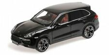 MINICHAMPS 2012 Porsche Cayenne Turbo S Black Metallic 1:18 *New!