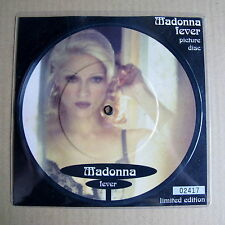 "Madonna Fever Un-played 7"" Picture Disc with numbered insert (05785)"