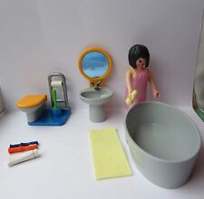 PLAYMOBIL MODERN HOUSE FURNITURE BATHROOM SET
