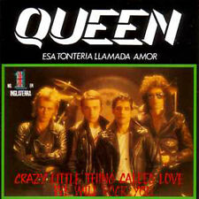 ★ CD SINGLE QUEEN Crazy little thing called love  + Spain + 2-track CARD SLEEVE