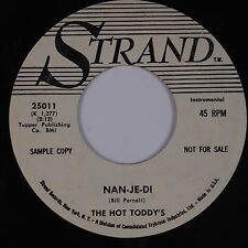 HOT TODDY'S: Nan-Je-Di STRAND '60 Bopper DJ PROMO 45 Hear