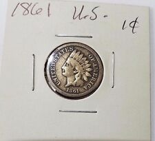 1861 Indian Head Cent Penny Free Ship!!