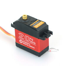 20KG Waterproof Super Torque Metal Gear Digital Servo for 1:10 1:8 Short Course