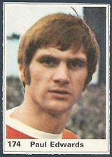MARSHALL CAVENDISH TOP TEAMS 1971- #174-MANCHESTER UNITED-PAUL EDWARDS