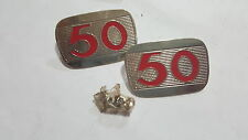 HONDA 50CC C50 C50M C100 EMBLEM BADGE LOGO SIDE COVER