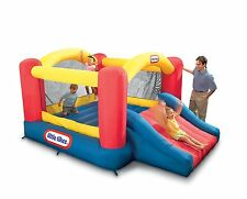 NEW Multi Color Jump 'n Slide Bouncer For Outdoor Backyard Use By Little Tikes