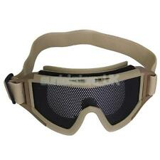 Tactical Military Metal Mesh Eye Protect Airsoft Goggles Glasses Mask