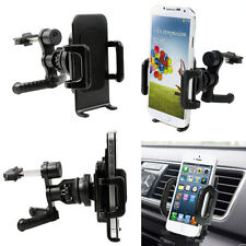 360° Car Air Vent Mount Cradle Holder Stand For Mobile Smart Cell Phone PDAs GPS