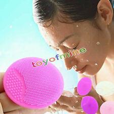 1 PC nettoyage Nettoyant Visage Exfoliant facial brosse SPA peau Gommage