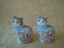 Cargo Express Taiwan Porcelain Cat Salt And Pepper Shakers Set