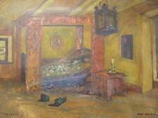 VERA KOEBERLE 1923*FRANKREICH*LA PETITE ...*INTERIOR*DARK ROOM*FRENCH ARTIST ?