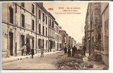 CP 51 Marne - Reims - Rue de Landouzy (Hôtel de la Paix)