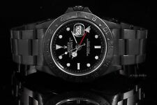 Rolex Stainless Steel Explorer - Black Dial - with PVD Coating - Ref# 16570