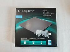 Logitech Rechargeable Touchpad T650 Windows 8 Multi Touch Navigation Black