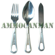 New Mess Kit Fork, Knife, and Spoon