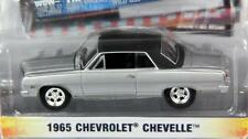 CHEVROLET CHEVELLE 1965 ZINE MACHINES 2 1:64 GREENLIGHT 21740 NEW MODEL SILVER
