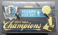 Panini Basketball Dallas Mavericks Champions Box Set 2010-11  NBA Nowitzki RARE!