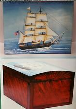 GERRY TILLEY CHARLES W. MORGAN SAILING SHIP BOX PAINTING PATTERN PACK