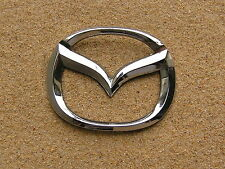 Genuine MAZDA LOGO 75mm Concave Badge Rear Emblem OTHER SIZES AVAIL *Good Cond*