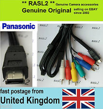 Genuine Panasonic Multi AV Cable X800 HC-X900 HC-X909 HDC-SD90 HS80 SD800 SD900
